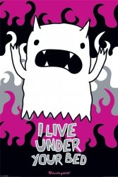 Monster Mash (I Live Under Your Bed) - plakat