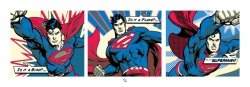 Superman (Pop Art Triptych) - reprodukcja