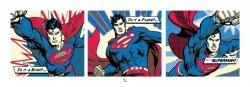 Superman (Pop Art Triptych) - reprodukcja