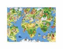 Mapa Świata dla Dziecka - reprodukcja