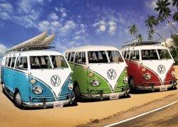 VW Camper Campers - plakat