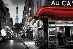 Paryż, Widok na Wieże Eiffel - plakat