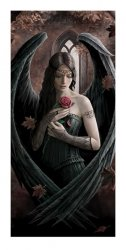 Anne Stokes (Angel Rose) - reprodukcja