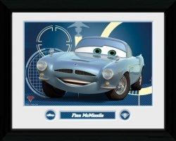 Cars 2 Finn Mcmissile - obraz w ramie