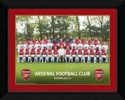 Arsenal Team Photo 11/12 - obraz w ramie