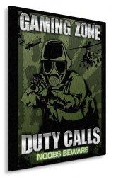 Gaming Zone - Duty Calls - Obraz na płótnie