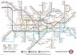 London Underground Map - plakat