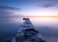 Fototapeta na ścianę - Pomost nad wodą - 320x230cm