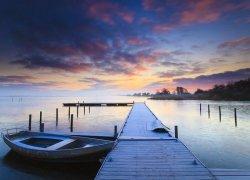 Fototapeta na ścianę - Wschód słońca - 320x230cm