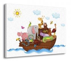 Arka Noego - Obraz na płótnie