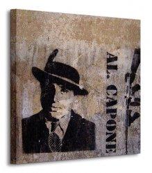 Al Capone - Obraz na płótnie