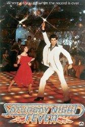 Saturday Night Fever / Gorączka sobotniej nocy - John Travolta - plakat