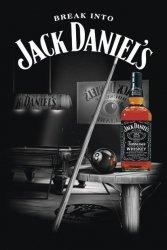 Jack Daniel's - Pool - Billiard - plakat