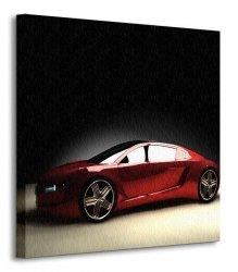 Samochód - Obraz na płótnie