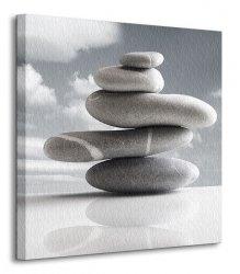 Kamienna kompozycja II - Obraz na płótnie