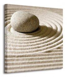 Mini zen garden - Obraz na płótnie