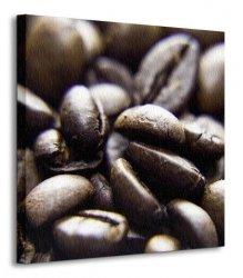 Ziarna kawy - Obraz na płótnie