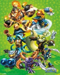 Skylanders Swap Force Group - plakat