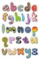 Alfabet - plakat