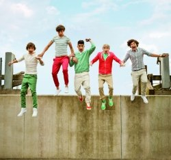Fototapeta ścienna - One Direction JD Jump - 270x253 cm