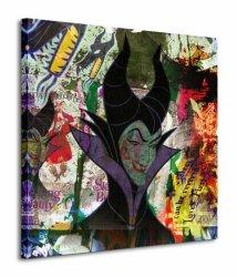 Maleficent (Graffiti) - Obraz na płótnie