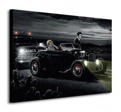 Obraz na płótnie - Joy Ride - 80x60cm