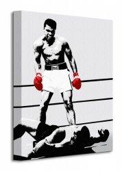 Muhammad Ali (Gloves - Corbis) - Obraz na płótnie