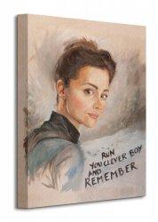 Doctor Who (Clara Painting) - Obraz na płótnie