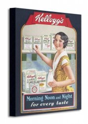 Vintage Kelloggs (Morning, Noon & Night) - Obraz na płótnie
