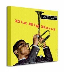 Dizzie Gillespie (Big Band) - Obraz na płótnie