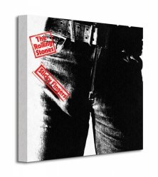 Rolling Stones (Sticky Fingers) - Obraz na płótnie