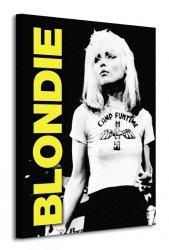 Blondie (Live) - Obraz na płótnie