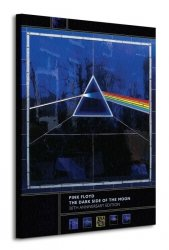 Pink Floyd (Dark Side Of The Moon, 30th Anniversary) - Obraz na płótnie