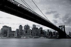 Fototapeta Ścienna - New York Brooklyn Bridge - 315x232 cm
