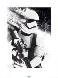 Star Wars The Force Awakens Stormtrooper - reprodukcja