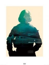 Star Wars The Force Awakens Poe - reprodukcja