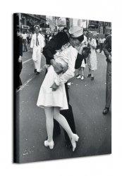 Obraz na ścianę - Time Life (War Time Kiss) - 40x50 cm
