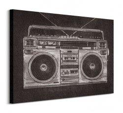 Ghetto Blaster - Obraz na płótnie