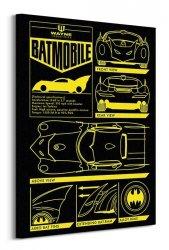 Batman (Batmobile) - Obraz na płótnie
