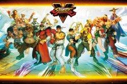 Street Fighter 5 Postacie - plakat