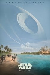 Star Wars Łotr 1 (A Rebelion Built On Hope) - plakat