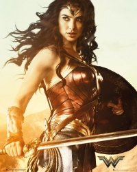 Wonder Woman Sword - plakat filmowy