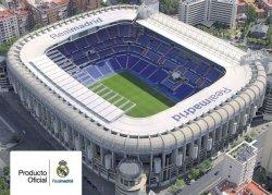 Real Madrid Stadion - plakat