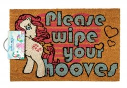 My Little Pony Retro Please Wipe Your Hooves - wycieraczka