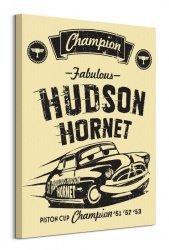 Cars 3 Hudson Hornet - obraz na płótnie