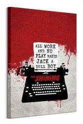 The Shining Typewriter - obraz na płótnie