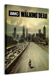 The Walking Dead Road - obraz na płótnie