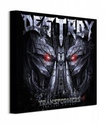 Transformers The Last Knight Destroy - obraz na płótnie