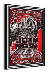 Transformers The Last Knight Join Now - obraz na płótnie