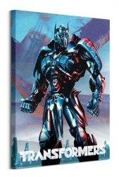 Transformers The Last Knight Optimus - obraz na płótnie